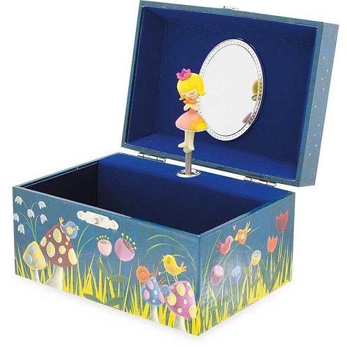 Boîte à bijoux musicale Grenouille