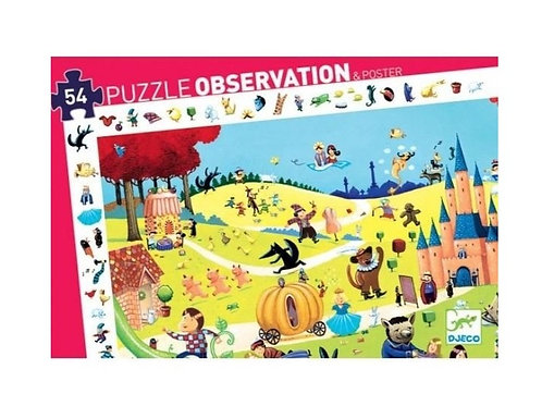 Puzzle - observation Contes