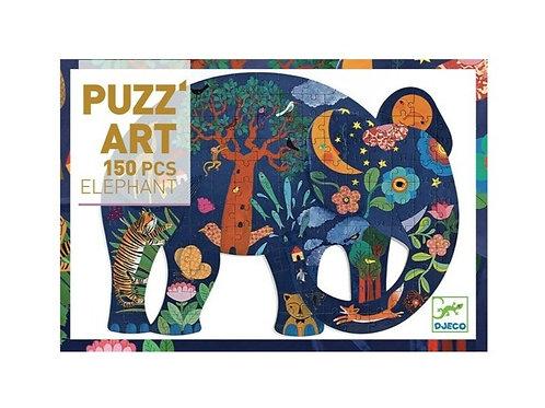 Puzzle 150 pièces - Eléphant