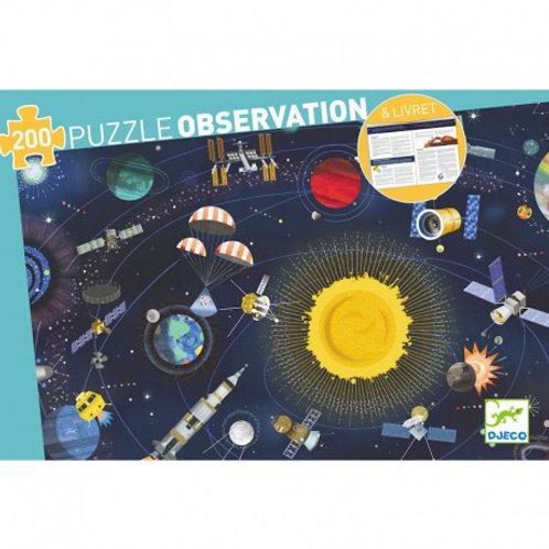 Puzzle -observation Espace