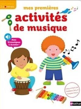 Mes premières activités de musique
