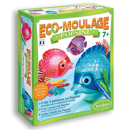 Moulage poissons tropicaux