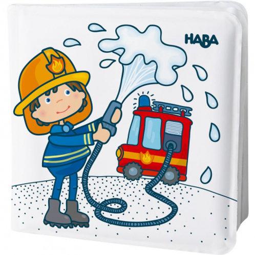 Livre de bain - pompiers