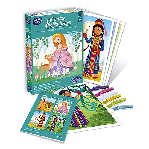 Contes et paillettes -Princesses