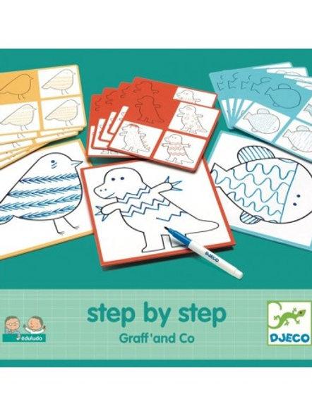 Apprendre  dessiner en étapes