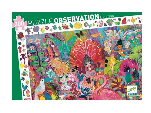 Puzzle - observation Carnaval