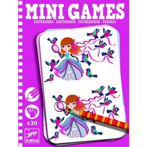 Mini games Différences