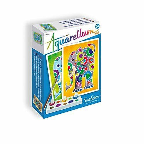 Aquarellum mini - Eléphants