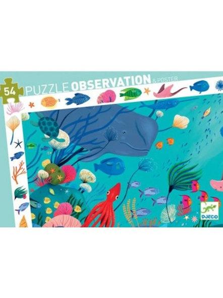 Puzzle -observation Aquatique