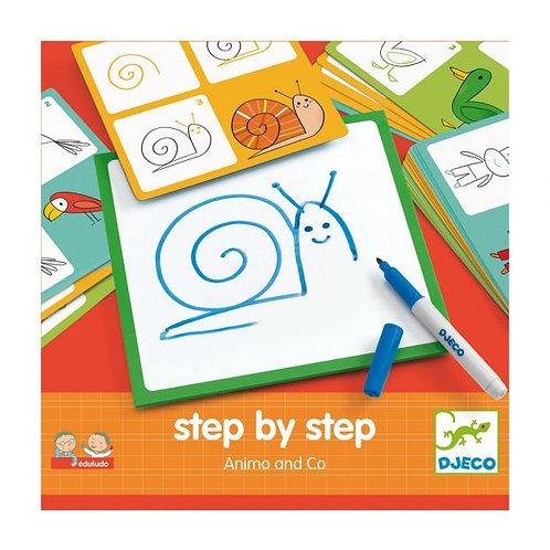 Apprendre  dessiner par étapes