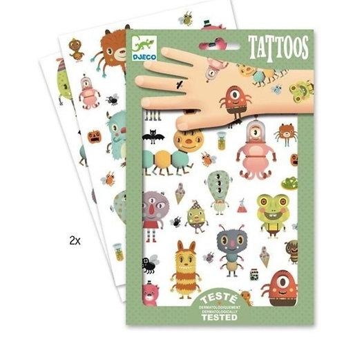 Tatouages - Monstres