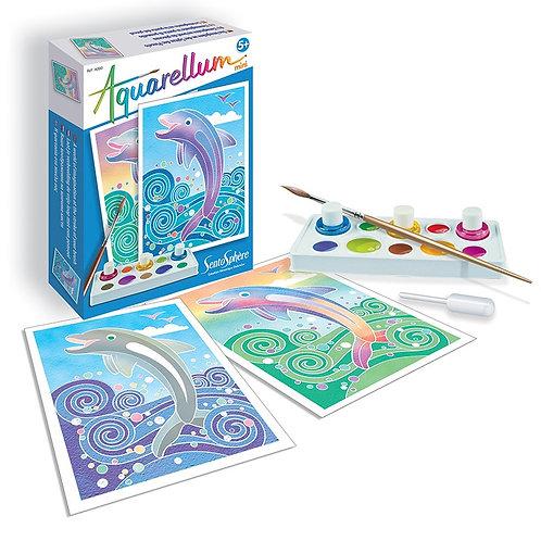 Aquarellum mini - Dauphins