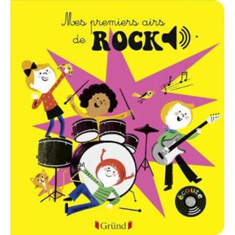 Mes premiers airs de Rock - livre sonore