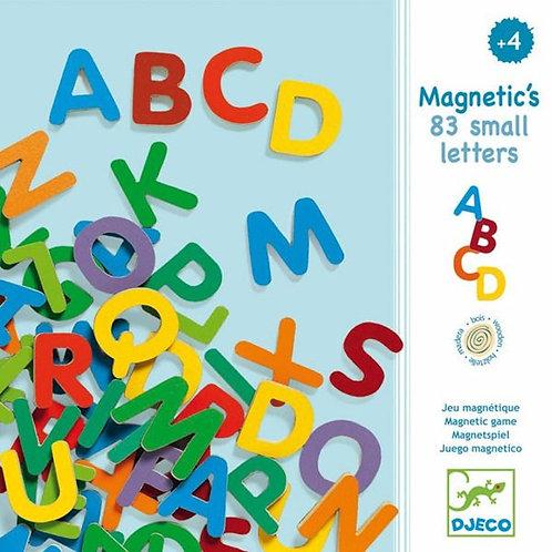83 lettres capitale fines magnétiques