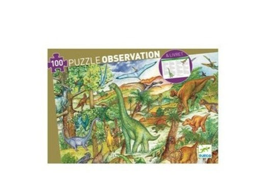 Puzzle - observation Dinosaures