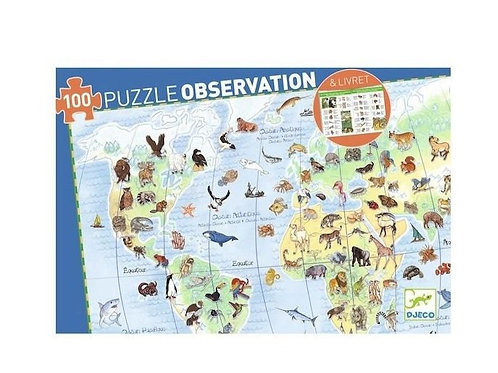 Puzzle - observation Animaux