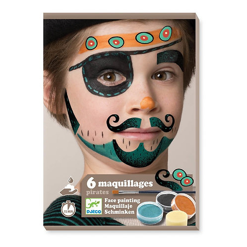 6 maquillages pirate