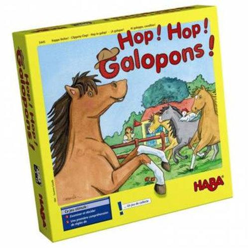 Hop! hop! galopons!