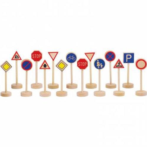 Coffret de panneaux de signalisation
