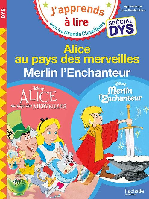 Alice au pays des merveilles - Merlin l'enchanteur