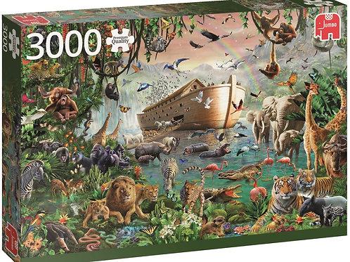 Puzzle 3000 pièces Jungle