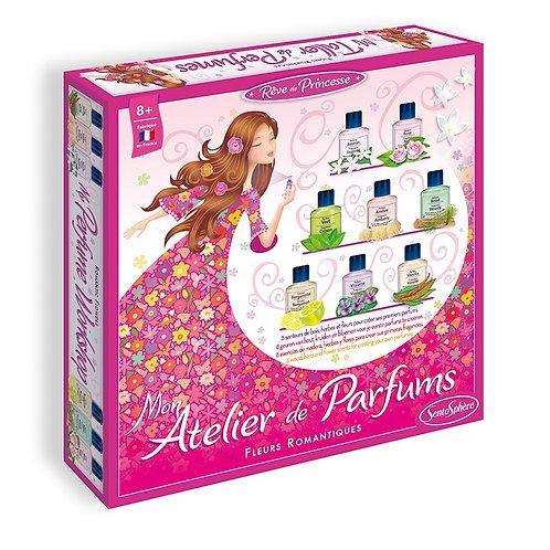 Atelier de parfums fleurs romantiques