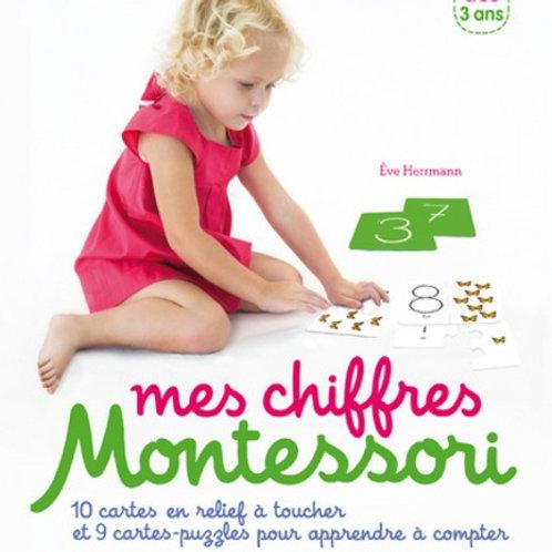 Coffret Montessori Les chiffres rugueux