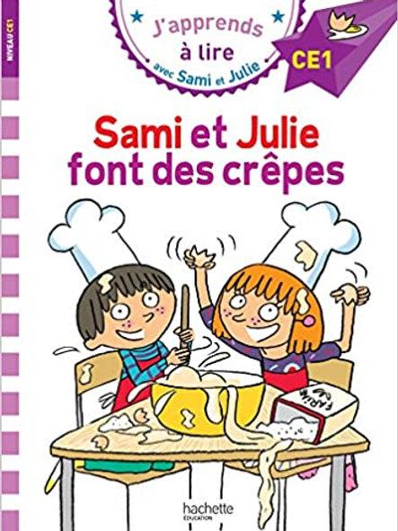 Sami et Julie font des crêpes
