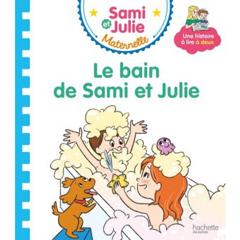 Le bain de Sami et Julie
