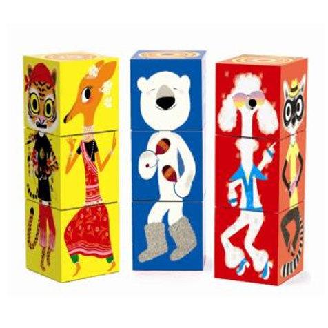 9 cubes Puzzle