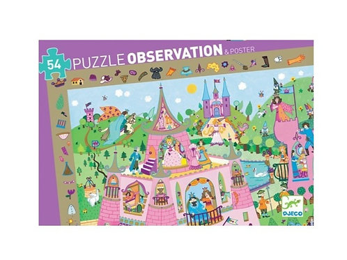 Puzzle - observation Princesses