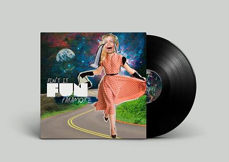 vinyl design, paramore, ain't it fun