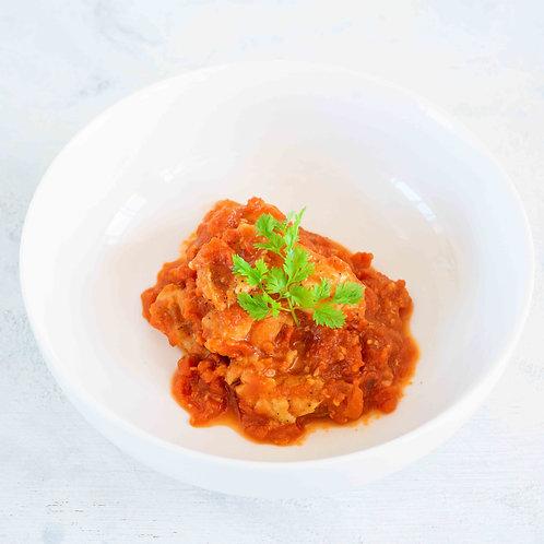 自家製塩麹漬けチキンのトマト煮込み(120g)