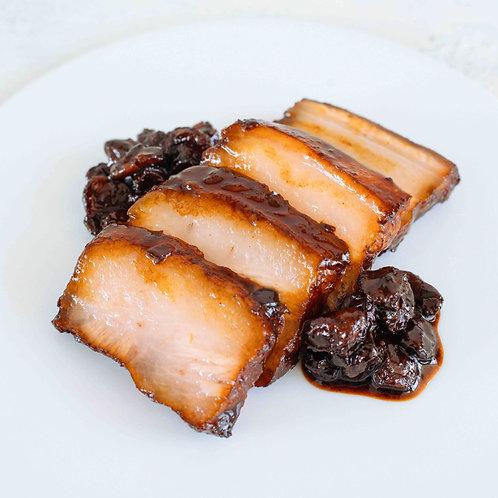 国産豚バラ肉のバルサミコレーズン煮込み(120g)