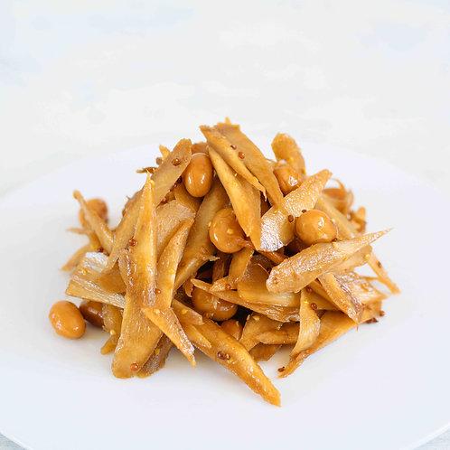 牛蒡と国産大豆のバルサミコキンピラ(100g)