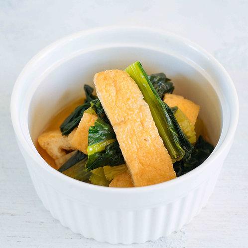 小松菜と油揚げの煮浸し(100g)