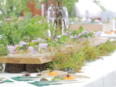 【Organic Wedding Party Catering】