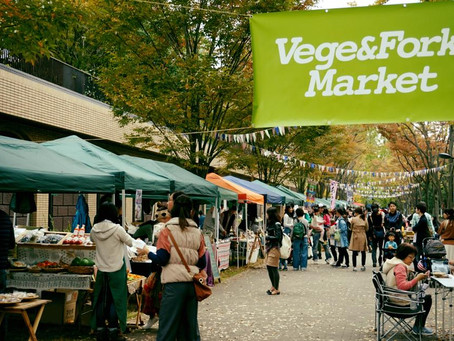 【感謝御礼】Vege&Fork Market出店♪