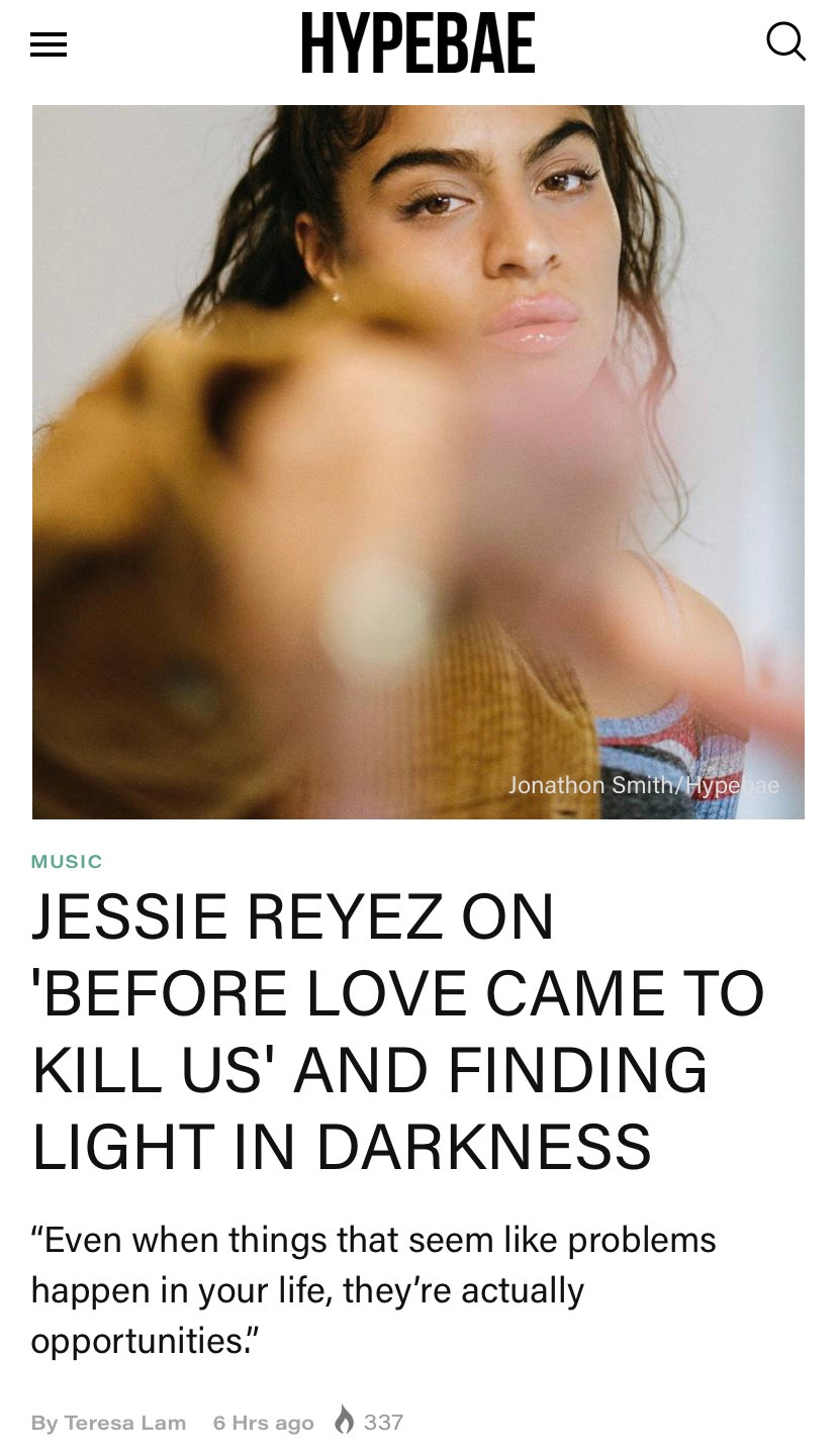 Jessie x Hypebae