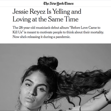 Jessie Reyez x NYT