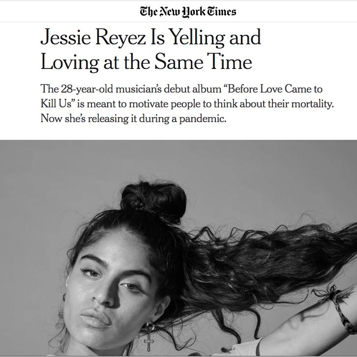 Jessie x New York Times