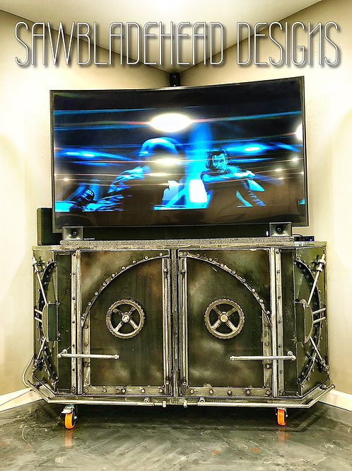 The Vault entertainment/storage cabinet