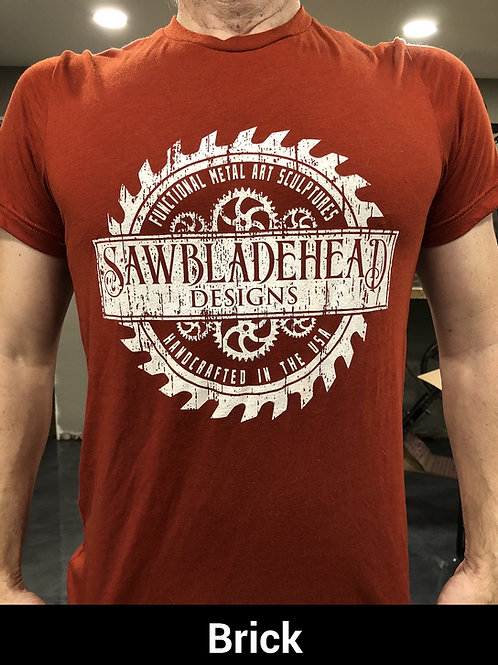 2XL and 3XL Sawbladehead Designs Retro Tee