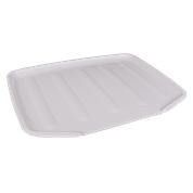 Large Draining Board- White