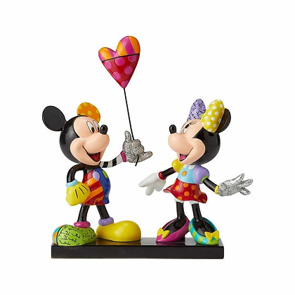 Britto Limited Edition Mickey & Minnie Mouse