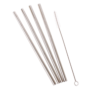Straws - Reusable with cleaning brush