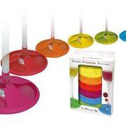 Vin Bouquet Wine Glass Market/ Coaster set