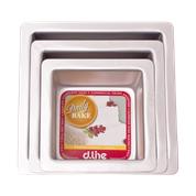 "Cake Pan Square - 7"" = 17.5 x 7.5 cm"