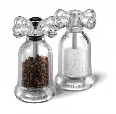Salt & Pepper Grinder Set- Tap