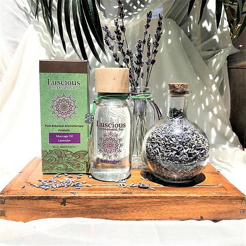 """Lavender Aromatherapy"" Massage Oil/Skin Moisturizer"